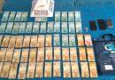 Perdões: Homens acusados de roubarem malote de supermercado são presos em Santana do Jacaré