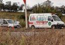 Campo Belo: Acidente entre carro de passeio e ambulância é registrado no trevo