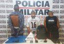 Lavras: Trio é preso após roubar motorista de aplicativo e tentar roubar joalheria no centro da cidade