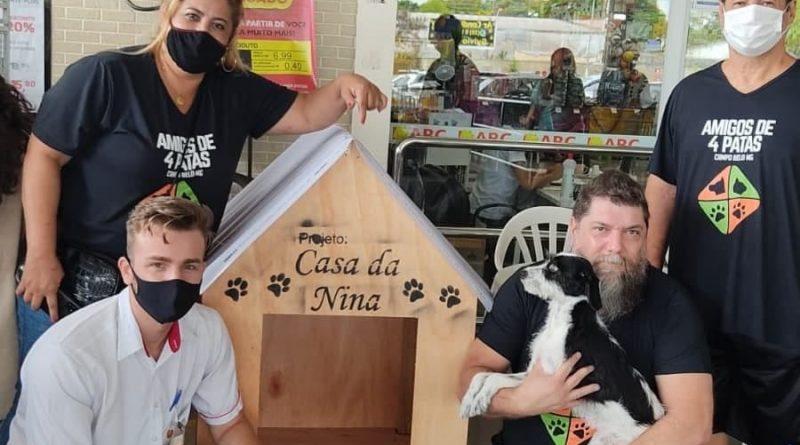 Projeto Nina é lançado em Campo Belo; Ele propõe casas para cães de rua